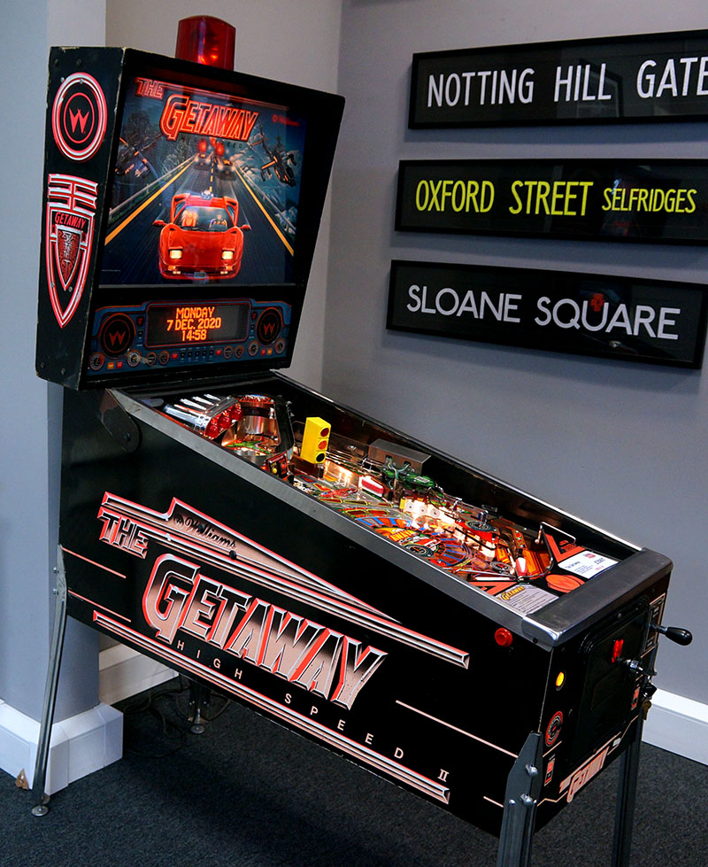 The Getaway Pinball Machine