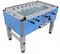 Roberto Sport Summer Cover Coin-Op Football Table with Glass Cover