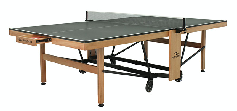 Rasson R100 Table Tennis Table - Drawer Open
