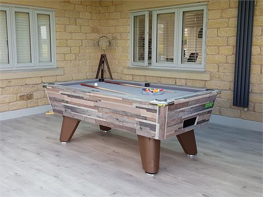 Supreme Winner Pool Table: Vintage Festival - 6ft, 7ft