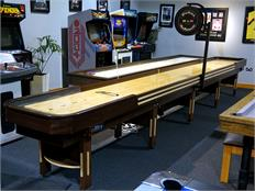 Hudson Deluxe Hybrid Shuffleboard - 20ft - Showroom Clearance