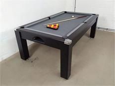 Signature Warwick Pool Dining Table: Black - 7ft
