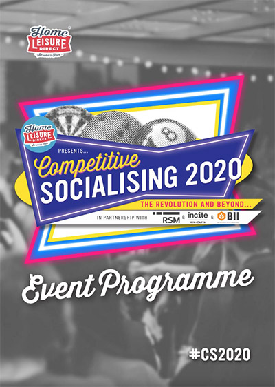 Competitive Socialising 2020 Programme