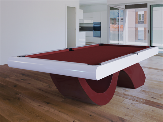 Picasso Design Pool Table