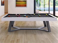 Steel Pool Table