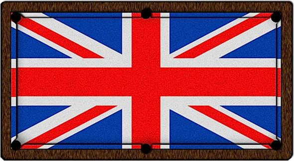 Union Flag Pool Table Cloth