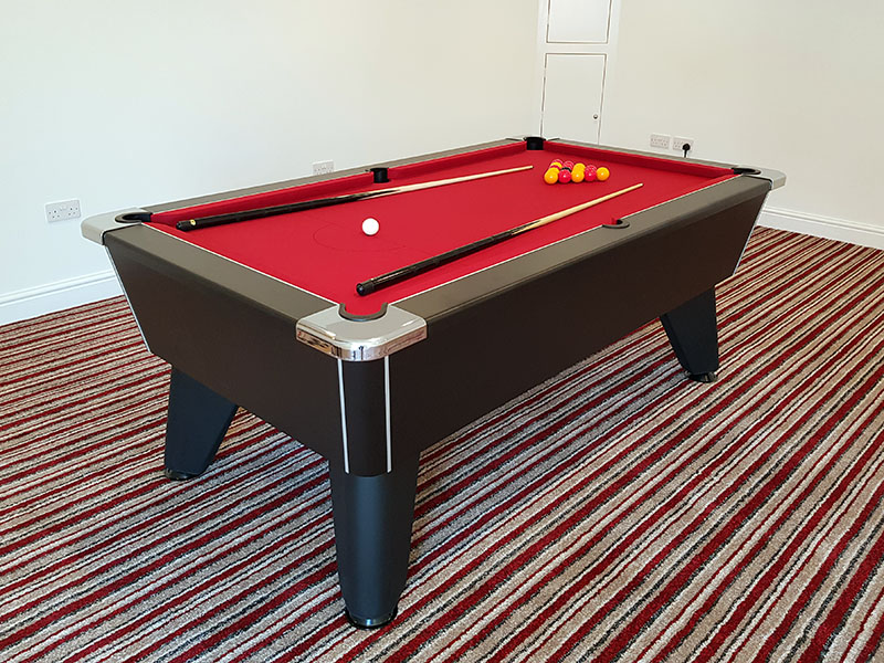 An image of Omega 2.0 Pool Table: All Finishes - 6ft, 7ft