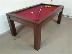 Signature Chester Solid Walnut Pool Dining Table - 6ft