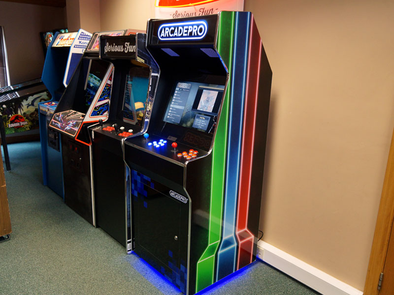 ArcadePro Saturn 2391 Upright Arcade Machine - In Showroom