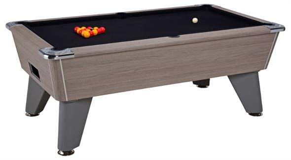 Signature Tournament Pro Edition Pool Table: Grey Oak - 6ft, 7ft
