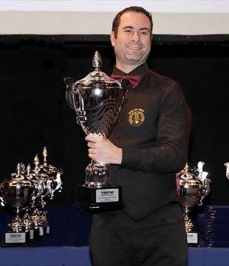 Ben Flack - European Pool Champion
