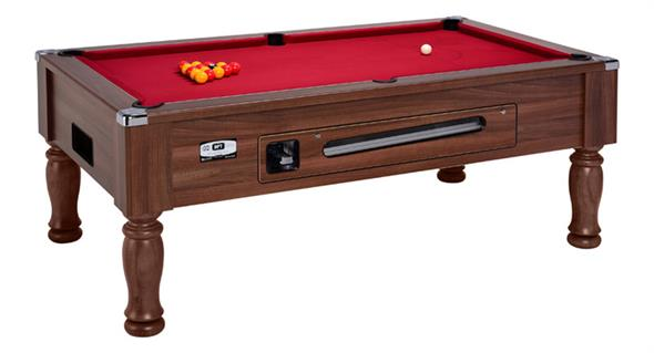 Ascot Pool Table - 6ft, 7ft  - Dark Walnut