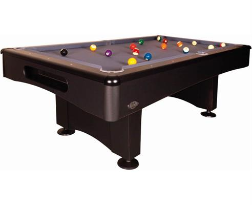 Buffalo Eliminator II Shadow Black American Pool Table - 7ft, 8ft