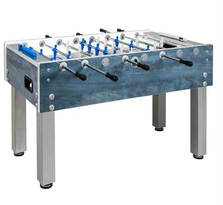 Garlando G-500 Outdoor Football Table - Blue