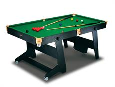 Riley Leisure 6ft Folding Pool Table with Table Tennis Top