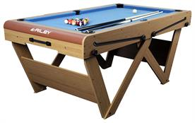 Riley Leisure 6ft 'W' Leg Pool Table