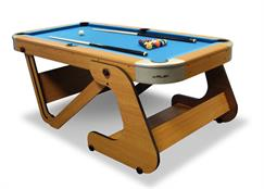 "Riley Leisure Supersize 6ft 6"" Vertically Folding Pool Table"