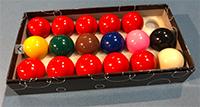 Standard Snooker Balls