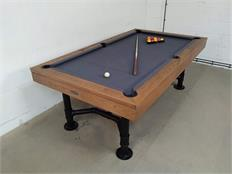 Signature McQueen Oak Pool Dining Table - 7ft: Clearance