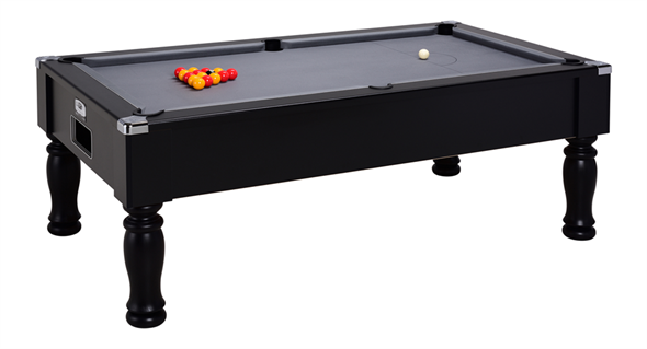 Monarch Pool Table: Black - 6ft, 7ft