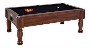 Monarch Pool Table: Dark Walnut - 6ft, 7ft