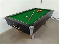 Signature Champion Pool Table - Black and Walnut - 7ft: Clearance