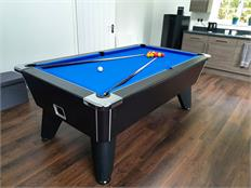 Signature Tournament Pro Edition Pool Table: Black - 6ft, 7ft