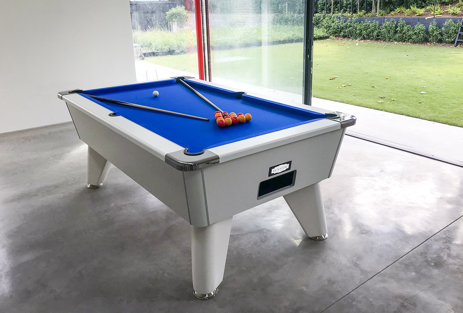 An image of Signature Tournament Pro Edition Pool Table: All Finishes - 6ft, 7ft