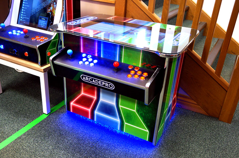 ArcadePro Nebula 2097 Cocktail Arcade Machine - In Showroom