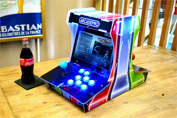 ArcadePro Proteus 2097 Double Sided Arcade Machine