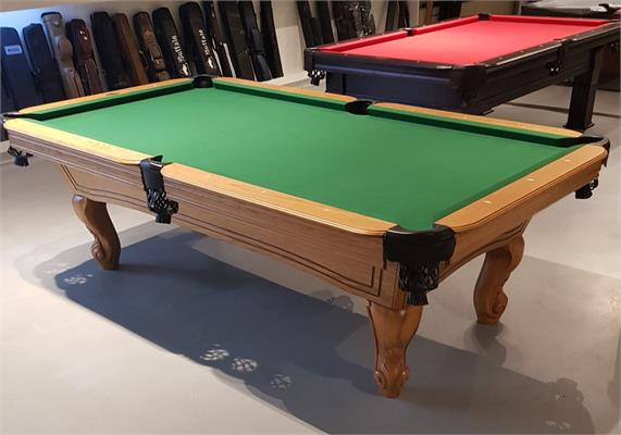 Buffalo Napoleon American Pool Table (Oakwood) - 8ft