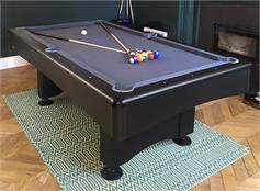 Buffalo Eliminator II Stealth American Pool Table - 7ft, 8ft