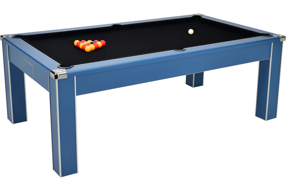 An image of Vector Pool Dining Table: All Finishes - 6ft, 7ft