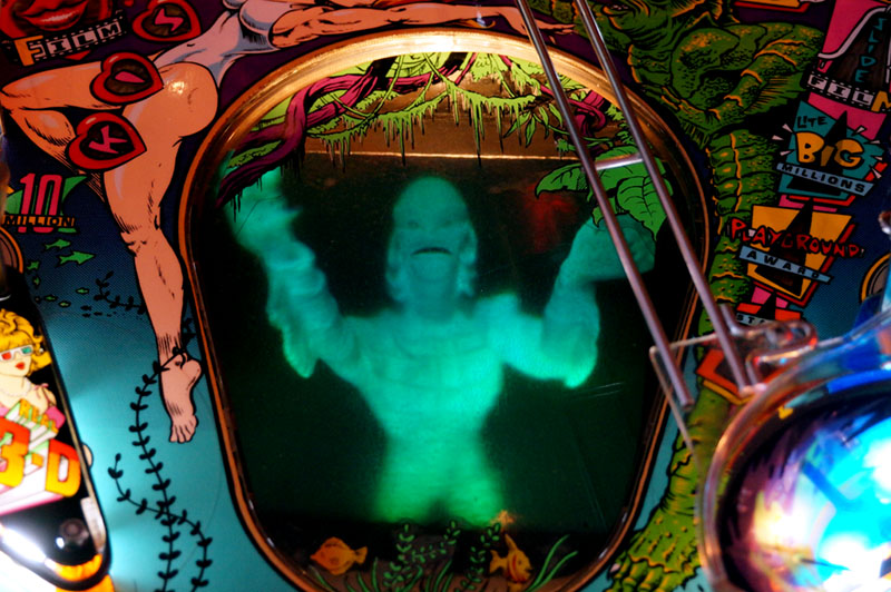 Creature From The Black Lagoon Pinball Machine - Creature Hologram