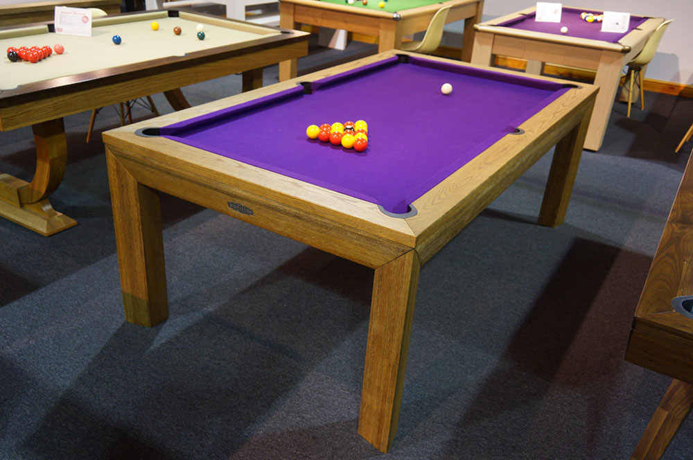 Signature Anderson Luxury English Pool Table in Rustic Oak