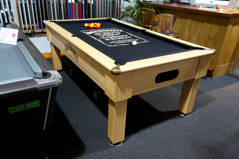 Jack Daniel's Winchester Pool Table - In Showroom