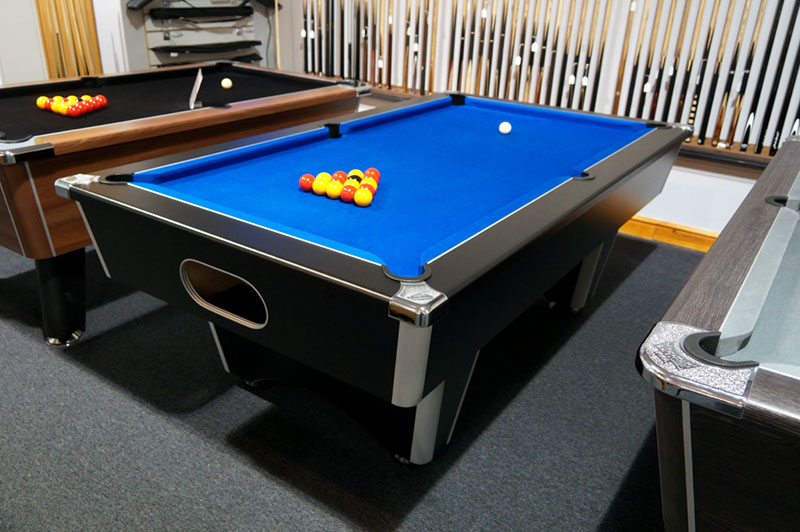 Signature Champion Pool Table - In Showroom