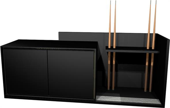 Aramith Fusion 212cm Sideboard for Pool Tables