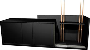 Aramith Fusion 242cm Sideboard for Pool Tables