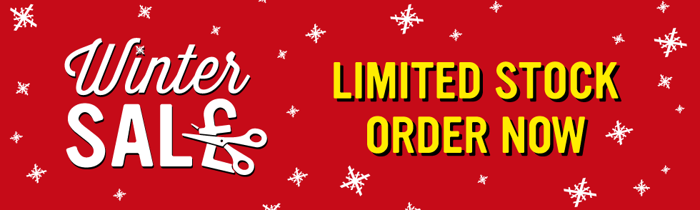 Winter Sale - Limited Stock so Order Now