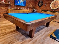 Diamond Professional Oak - Smoked Walnut Pool Table - 9ft: Warehouse Clearance