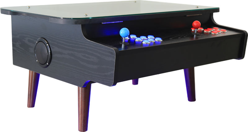 ArcadePro Triton Coffee Table Arcade Machine In Black