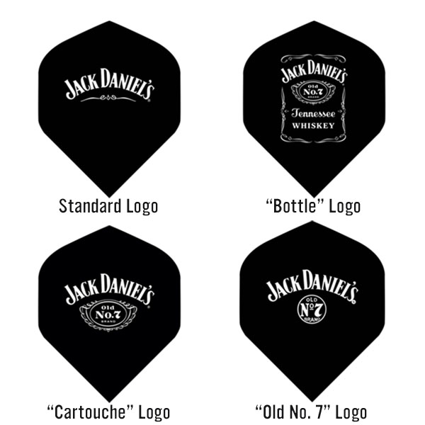 Jack Daniel's Darts Flights Designs
