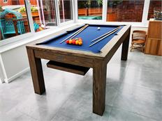 Signature Chester Silver Mist Pool Dining Table: 6ft, 7ft