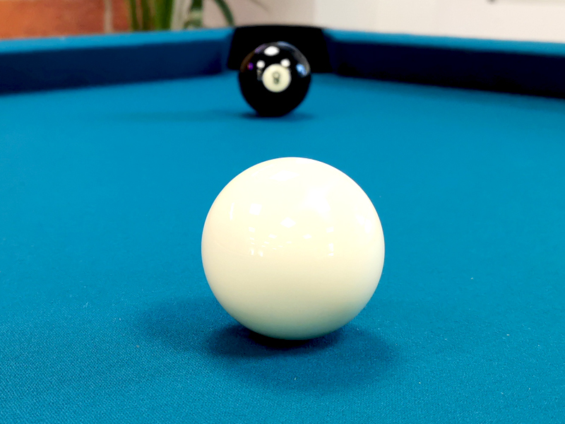 "An image of 1 7/8"" Aramith Single White Cue Ball"