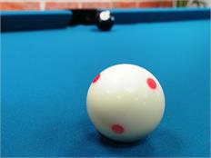 "2 1/4"" Aramith SA Pro Single White 6 Dots Cue Ball"