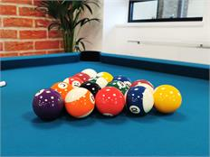 "2 1/4"" Aramith ""Premier"" Spots and Stripes Pool Balls"