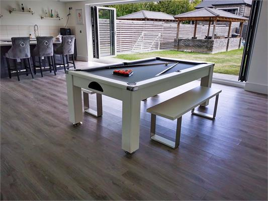 Signature Warwick Pool Dining Table: All Finishes - 6ft, 7ft