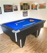 Classic Club Pool Table - 6ft, 7ft