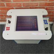 GamePro Invader 60 Cocktail Arcade Machine - White